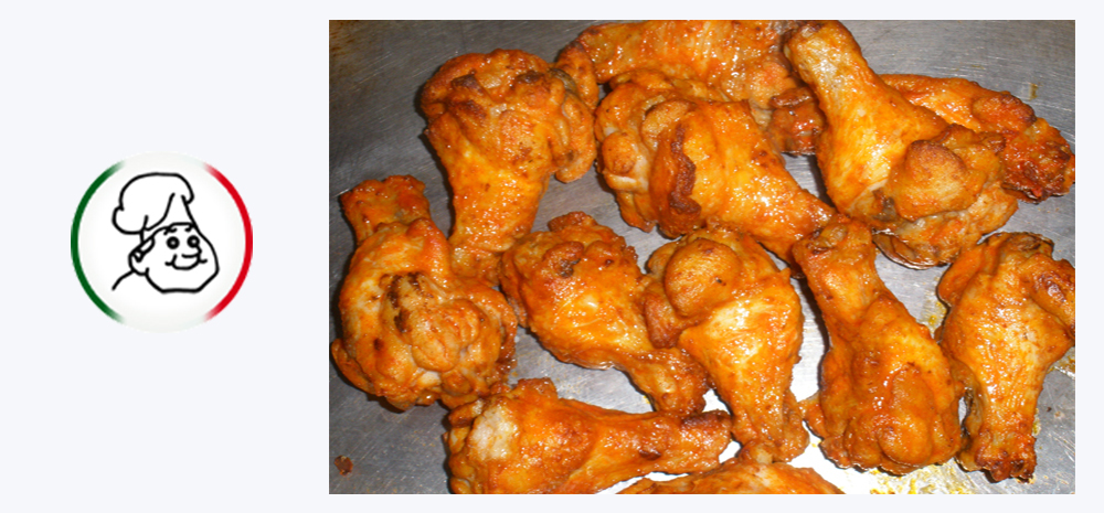 CHICKEN WINGS (12 PIECES)
